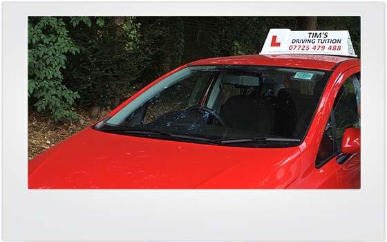 Learner Vehicle Eastleigh